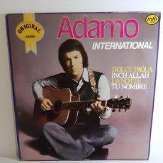 Discos de vinilo: ADAMO INTERNATIONAL. MFP. EMI. 1982. Lote 188764071