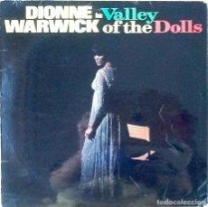 Discos de vinilo: DIONNE WARWICK : VALLEY OF THE DOLLS [UK 1968] LP. Lote 188764271