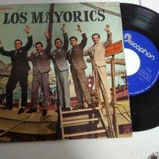 Discos de vinilo: LOS MAYORICS / VERDES CAMPIÑAS / EP 45 RPM / DISCOPHON 1961. Lote 188767767