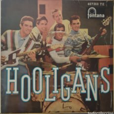 Discos de vinilo: HOOLIGANS - NO ESTA AQUI - SINGLE RARO DIFICIL. Lote 188771756
