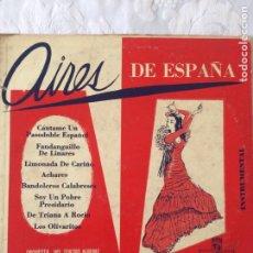 Discos de vinilo: AIRES DE ESPAÑA. Lote 188774870