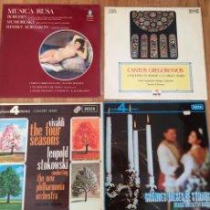 Discos de vinilo: LOTE DE 4. DISCOS. Lote 188776525