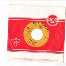 Discos de vinilo: 45 GIRI NICO FIDENCO A CASA D'IRENE RCA ITALIANA COVER STANDARD RCA ED JK LABEL GIALLA . Lote 188783823