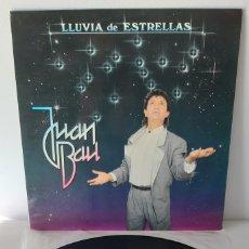 Discos de vinilo: JUAN BAU. LLUVIA DE ESTRELLAS. LEIBERO. 1987. ESPAÑA.. Lote 188784551