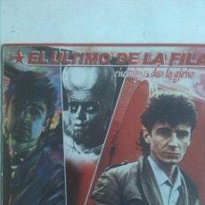 Discos de vinilo: EL ULTIMO DE LA FILA - ENEMIGOS DE LO AJENO. Lote 188785757