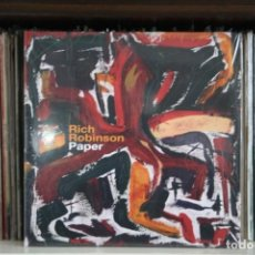 Discos de vinilo: RICH ROBINSON, PAPER, ( BLACK CROWES ), DOBLE LP ROJOS. DESPLEGABLE, 2016, NUEVO. Lote 188794305