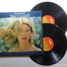 Discos de vinilo: LP DOBLE - EL MUNDO DE RAY CONNIFF - SELECCIÓN ANTOLOGICA - CBS - 1977. Lote 188799668