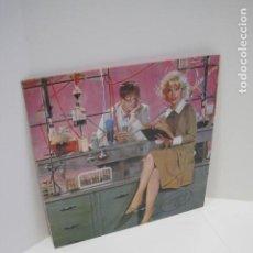 Discos de vinilo: LP VINILO HOMBRES G. 10 CANCIONES. VENEZIA, HACE UN AÑO, LAWRENCE DE ARABIA, SIN TI. 1985.. Lote 188813356