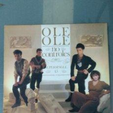 Discos de vinilo: OLE OLE NO CONTROLES 1983 - SUPER SINGLE 45 RPM. Lote 188814406