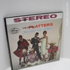 Discos de vinilo: THE FLYING PLATTERS AROUND THE WORLD. 12 CANCIONES. FOR THE FIRST TIME, THAT OLD FEELING.. Lote 188815863