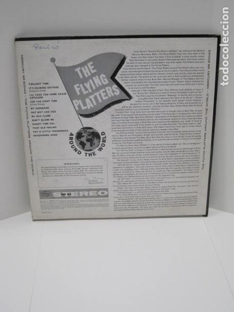 Discos de vinilo: THE FLYING PLATTERS AROUND THE WORLD. 12 CANCIONES. FOR THE FIRST TIME, THAT OLD FEELING. - Foto 2 - 188815863