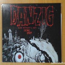 Discos de vinilo: DANZIG - LIFE WITHOUT A NET DEMO 1987 - LP. Lote 188817643