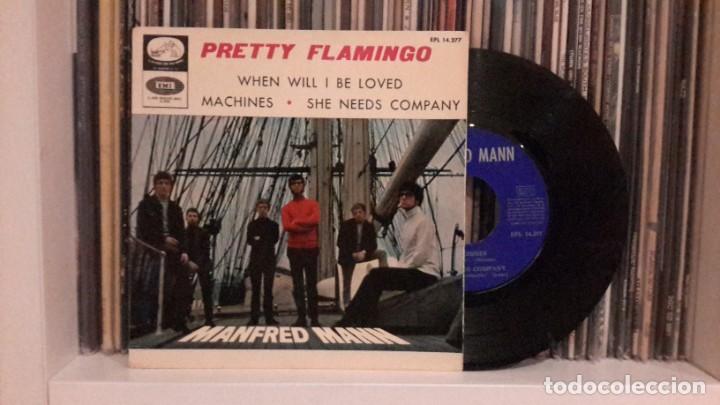 MANFRED MANN - PRETTY FLAMINGO (Música - Discos de Vinilo - EPs - Pop - Rock Internacional de los 50 y 60)