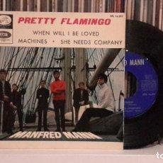 Discos de vinilo: MANFRED MANN - PRETTY FLAMINGO. Lote 188825017
