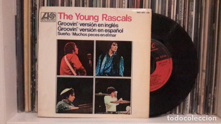 YOUNG RASCALS - GROOVIN´ (Música - Discos de Vinilo - EPs - Pop - Rock Internacional de los 50 y 60)