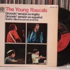 Discos de vinilo: YOUNG RASCALS - GROOVIN´. Lote 188825318