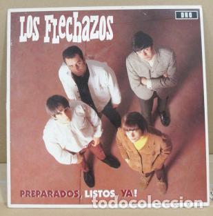 LOS FLECHAZOS - PREPARADOS, LISTOS, YA (VINILO) (Música - Discos - LP Vinilo - Grupos Españoles de los 90 a la actualidad)