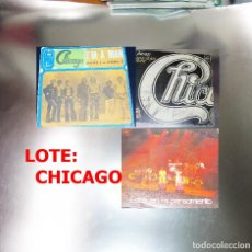 Discos de vinilo: CHICAGO --LOTE 3 VINILOS . Lote 188835778