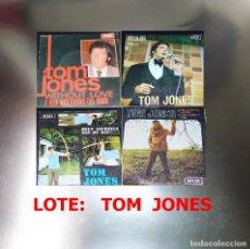 Discos de vinilo: TOM JONES--LOTE 4 VINILOS . Lote 188836028