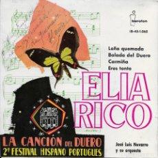 Discos de vinilo: ELIA RICO LEÑA QUEMADA IBEROFON 1961. Lote 188845983