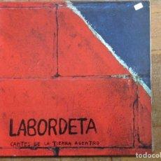 Discos de vinilo: LABORDETA. CANTES DE LA TIERRA ADENTRO. MOVIEPLAY, S 32823. 1976. GATEFOLD. FUNDA VG++. DISCO VG++.. Lote 189078531