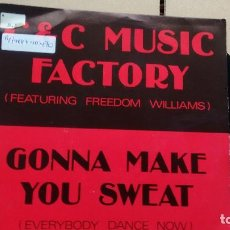 Discos de vinil: SINGLE ( VINILO) DE C & C MUSIC FACTORY FEATURING FREEDOM WILLIAMS) AÑOS 90. Lote 189097108
