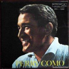 Discos de vinilo: PERRY COMO WITH THE CHARLES SINGERS - CATERINA + 3 - RCA HECHO EN VENEZUELA. Lote 189131315