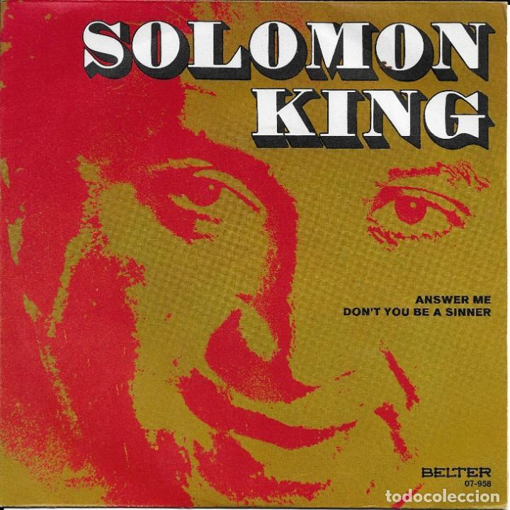 SALOMON KING ANSWER ME BELTER 1971 (Música - Discos - Singles Vinilo - Funk, Soul y Black Music)
