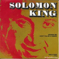 Discos de vinilo: SALOMON KING ANSWER ME BELTER 1971. Lote 189133887