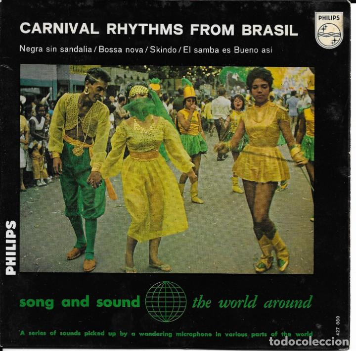 CONJUNTO MARACANGELHA CARNIVAL RHYTHMS FROM BRASIL PHILIPS (Música - Discos de Vinilo - EPs - Étnicas y Músicas del Mundo)