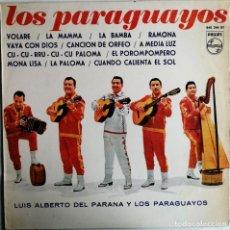Discos de vinilo: LUIS ALBERTO DEL PARANA Y LOS PARAGUAYOS – LOS PARAGUAYOS , PHILIPS 840 244 BY. Lote 189136680