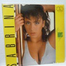 Discos de vinilo: SABRINA -BOYS -MAXI. Lote 189136732