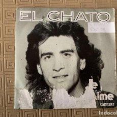 Discos de vinilo: EL CHATO ?– JE L'AIME SELLO: CARRERE ?– 14.256, CARRERE ?– 14256 FORMATO: VINYL, 7 , 45 RPM, SINGLE. Lote 189138795