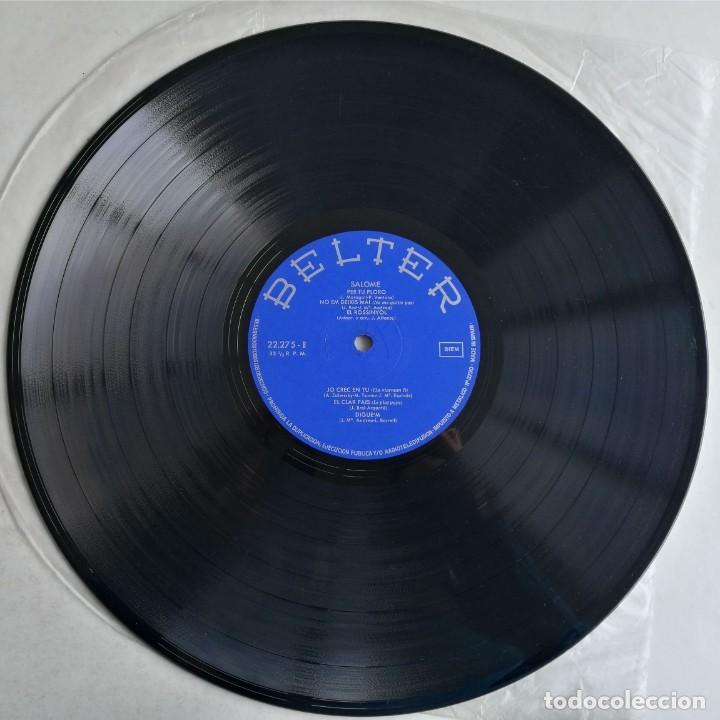 Discos de vinilo: Salomé - Salomé, Belter 22.275 - Foto 3 - 189154042