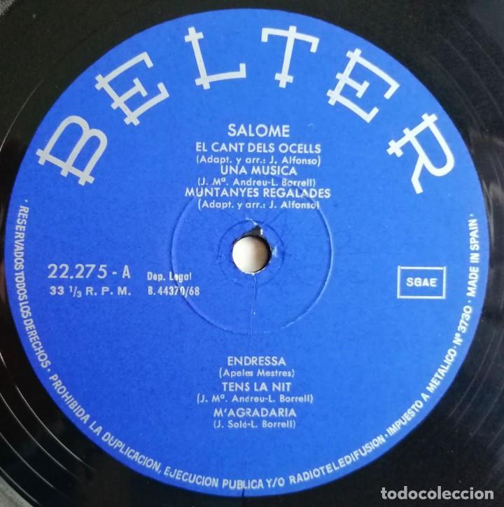 Discos de vinilo: Salomé - Salomé, Belter 22.275 - Foto 6 - 189154042
