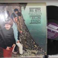 Discos de vinilo: LP ORIG USA 1966 THE ROLLING STONES BIG HITS HIGH TIDE CON LIBRETO FOTOS VG++. Lote 189158050