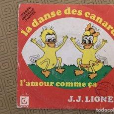 Discos de vinilo: J.J. LIONEL ?– LA DANSE DES CANARDS SELLO: DISQUES DÉESSE ?– DPX 762 FORMATO: VINYL, 7 , SINGLE, 45. Lote 189159925