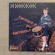 Discos de vinilo: LES GOSSES DE PARIS ?– L'ENFANT AU TAMBOUR SELLO: PRÉSIDENT ?– PRC 453 FORMATO: VINYL, 7 , 45 RPM . Lote 189159960