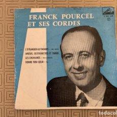 Discos de vinilo: FRANK POURCEL ET SES CORDES* ?– L'ÉTRANGER AU PARADIS / AMOUR, CASTAGNETTES ET TANGO / LES ENCHAINÉ. Lote 189160025
