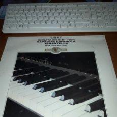 Discos de vinilo: LISZT. MIRKA POKORNA. EDICION DIAL. NUEVO PRECINTADO. Lote 189160227
