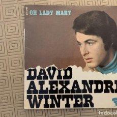 Discos de vinilo: DAVID ALEXANDRE WINTER ?– OH LADY MARY SELLO: RIVIERA (3) ?– 231.340, RIVIERA (3) ?– 231 340 FORMAT. Lote 189160321