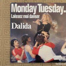 Discos de vinilo: DALIDA ?– MONDAY TUESDAY... LAISSEZ MOI DANSER SELLO: ORLANDO INTERNATIONAL SHOWS ?– 49.514, ORLAND. Lote 189160407