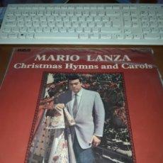 Discos de vinilo: MARIO LANZA. CHRISTMAS HYMNS AND CAROLS. EDICION RCA DE 1969. UK.. Lote 189160472