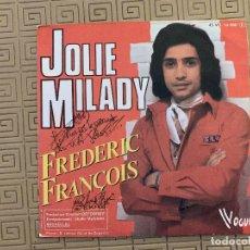 Discos de vinilo: FRÉDÉRIC FRANÇOIS ?– BABY DOLLAR SELLO: VOGUE ?– 45 VB 14 080 FORMATO: VINYL, 7 , 45 RPM, SINGLE . Lote 189160496