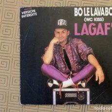 Discos de vinilo: LAGAF' ?– BO LE LAVABO SELLO: FLARENASCH ?– 14.745, PHH PRODUCTIONS ?– 14.745, CARRERE ?– 14.745 FO. Lote 189160600