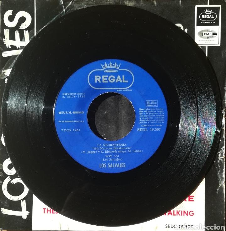 Discos de vinilo: Disco Los Salvajes - Foto 3 - 189166416