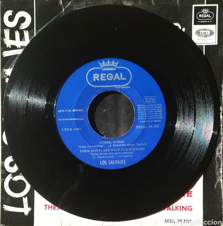 Discos de vinilo: Disco Los Salvajes - Foto 4 - 189166416