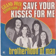 Dischi in vinile: REINO UNIDO 1976. SAVE YOUR KISSES FOR ME - BROTHERHOOD OF MAN. Lote 189170248