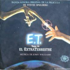 Discos de vinilo: DISCO E.T. EL EXTRATERRESTRE B.S.O.. Lote 189172466