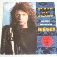 Discos de vinilo: JON BON JOVI – BLAZE OF GLORY - YOU REALLY GOT ME NOW 1990-GERMANY SINGLE VERTIGO. Lote 189193748